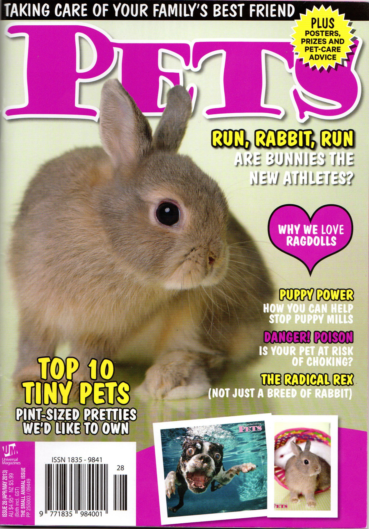 Pet Magazine April/May Issue Interveiw and Ariticle
